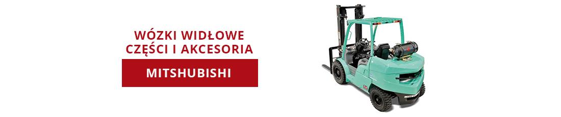 Wózki widłowe - Mitshubishi